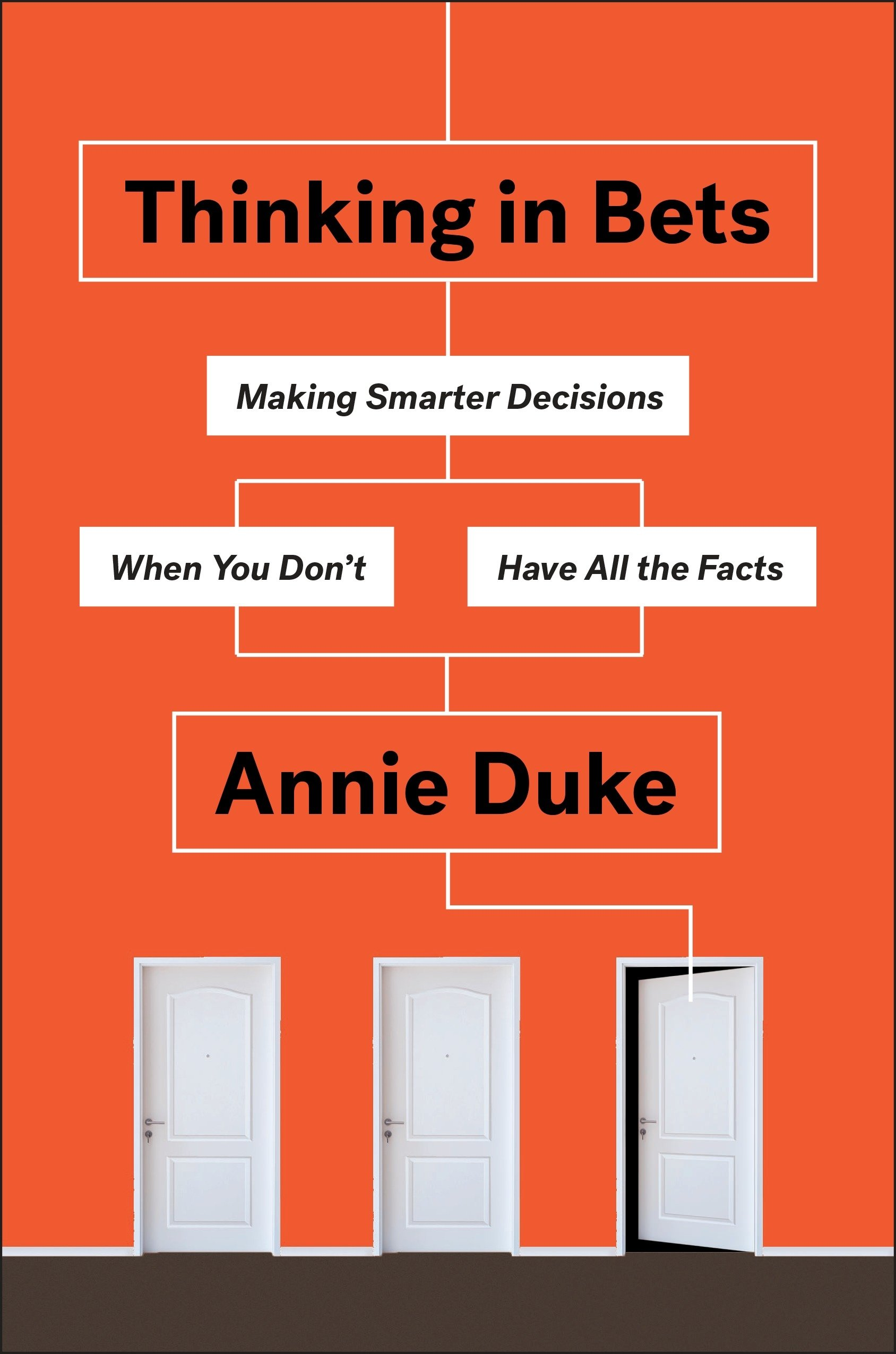 Thinking in Bets - Author: Annie Duke